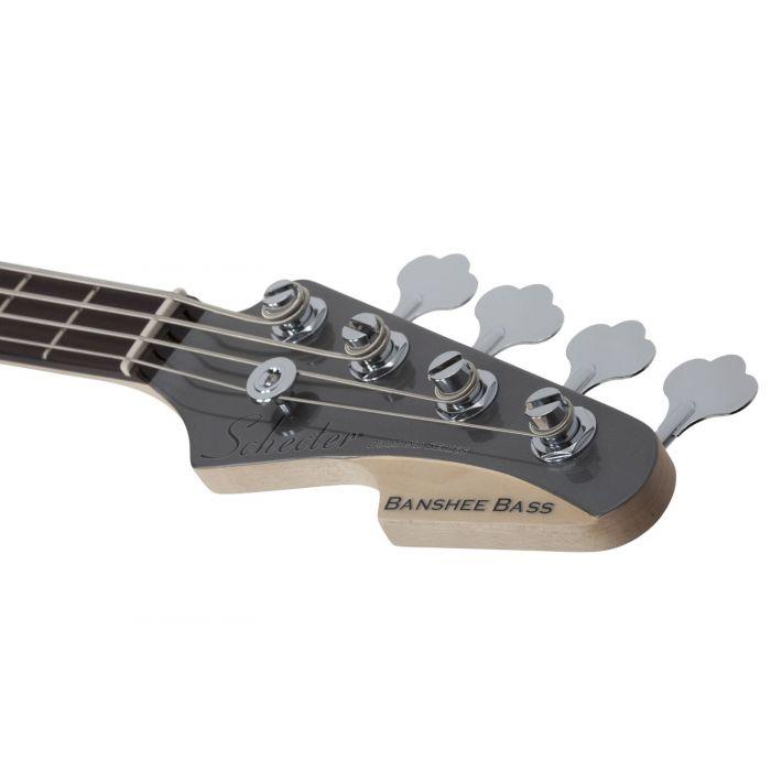 Schecter Banshee Bass Headstock