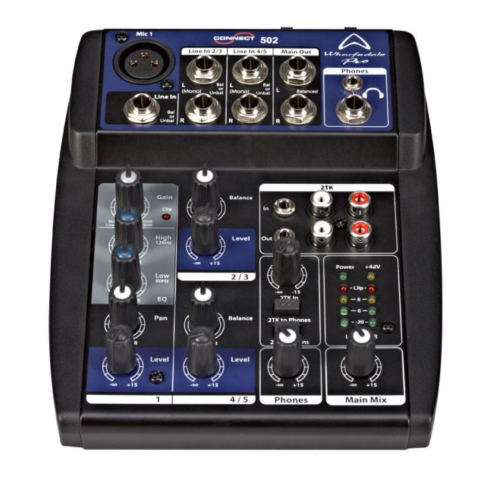 Wharfedale Connect 502 Mixing Desk