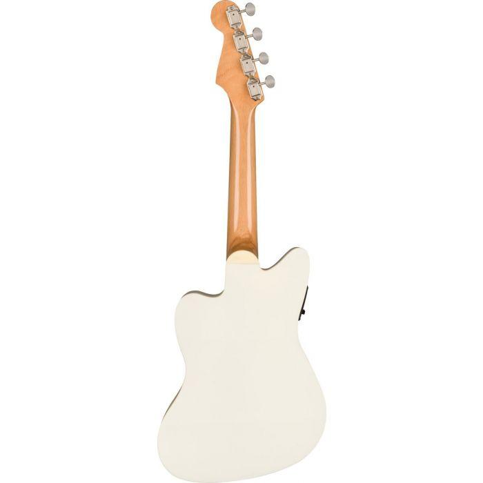 Fender Fullerton Jazzmaster Ukulele Olympic White Rear