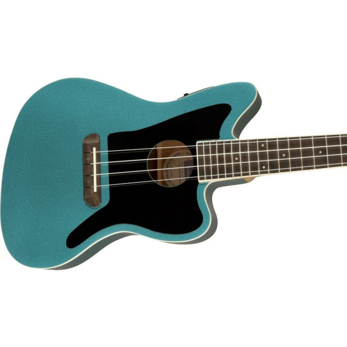 Fender Fullerton Jazzmaster Ukulele Tidepool Body
