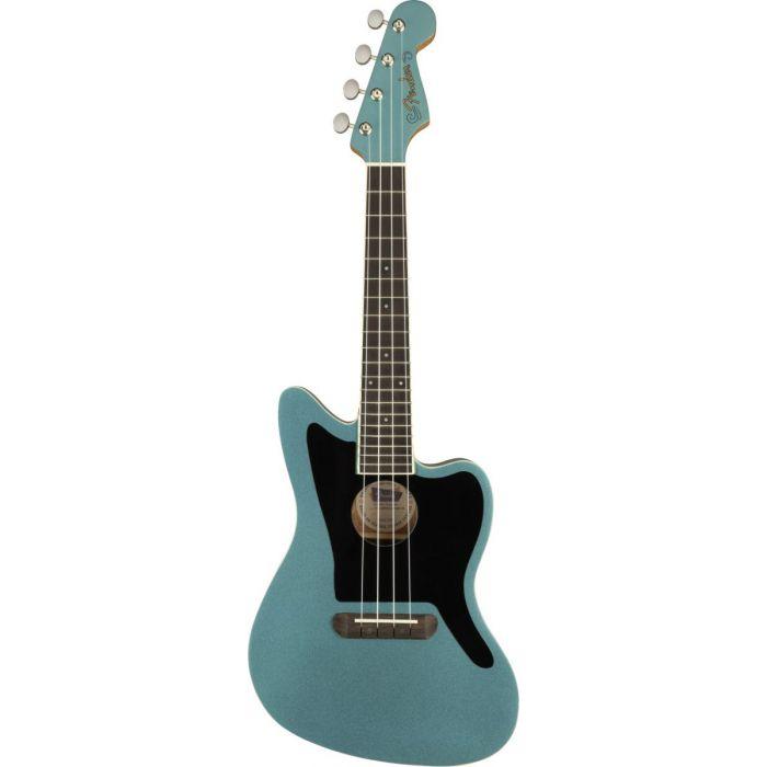 Fender Fullerton Jazzmaster Ukulele Tidepool Front