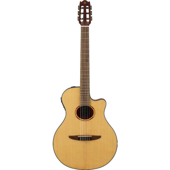Yamaha NTX1 Electro Acoustic Nylon Guitar in Natural Front