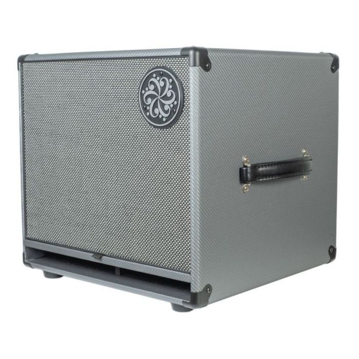 Front right angled view of a Darkglass Electronics D112N Lightweight 112 Bass Cabinet