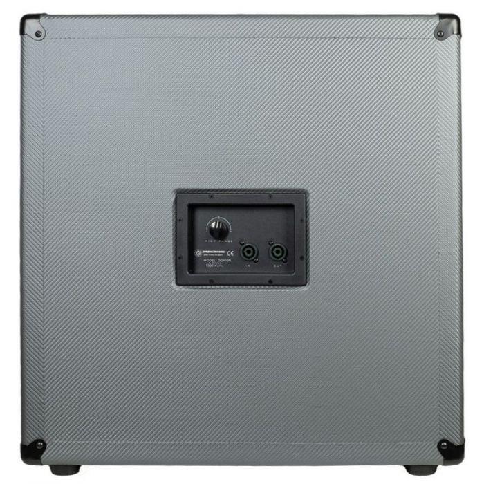 Full rear view of a Darkglass Electronics D410N Lightweight 410 Bass Cabinet
