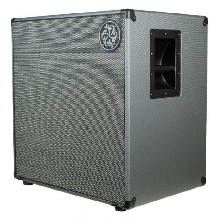 Front right-angled view of a Darkglass Electronics D410N Lightweight 410 Bass Cabinet