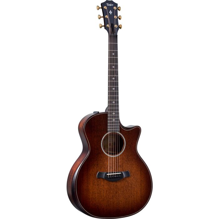 Full frontal view of a Taylor Builders Edition 324ce Electro Acoustic Guitar