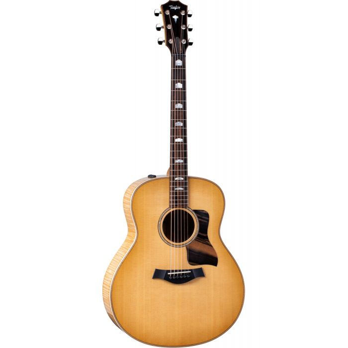 Full frontal view of a Taylor 618e Electro Acoustic Guitar