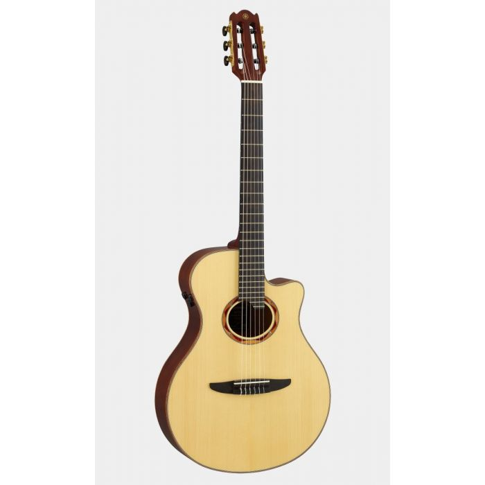 Yamaha NTX5 Electro Classical Guitar Front Angled
