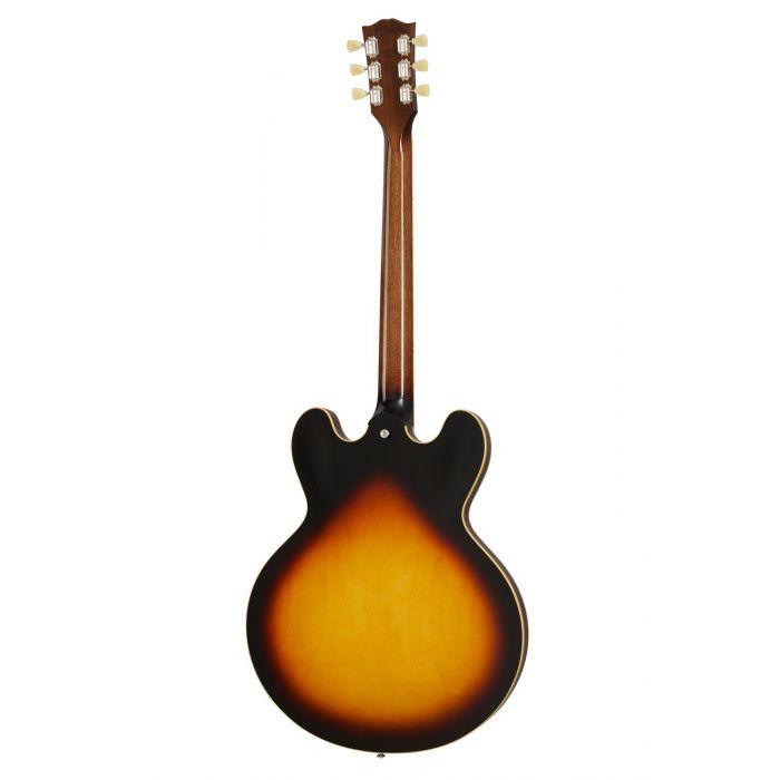 Back of Gibson ES-335 Vintage Burst