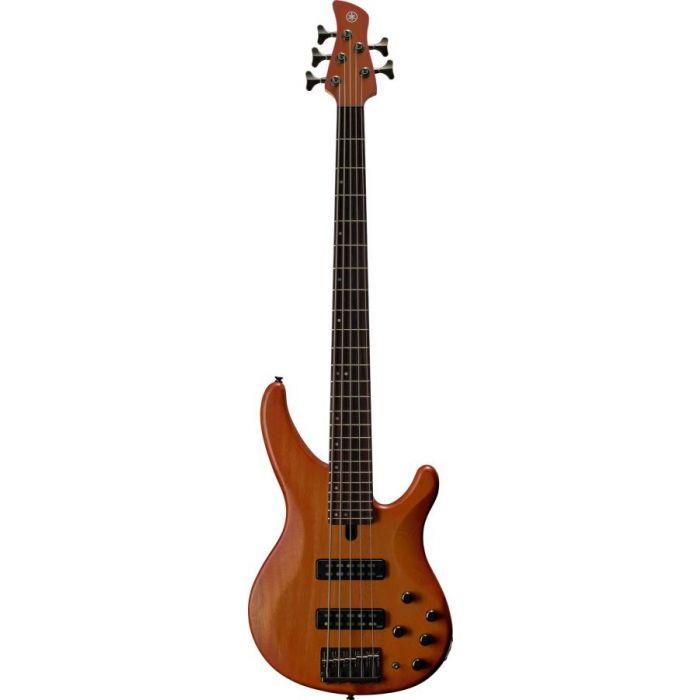 Yamaha TRBX505 5-String Bass Guitar Brick Burst Front
