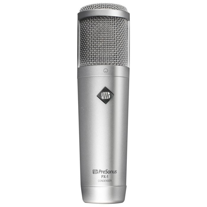 Full front view of a Presonus PX-1 Large Diaphragm Condenser Mic