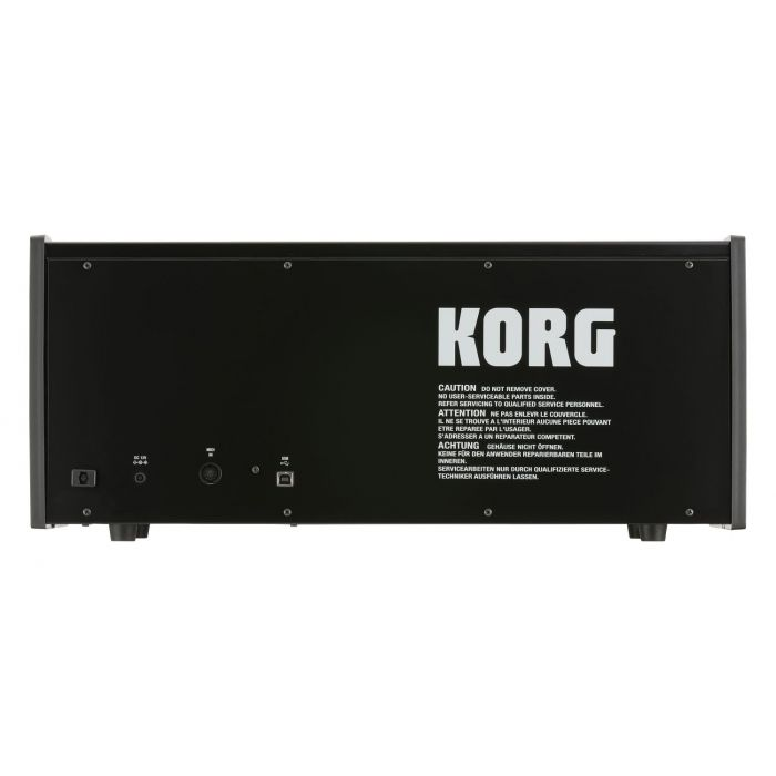 Back of Korg MS20 Full Size Monophonic Synth