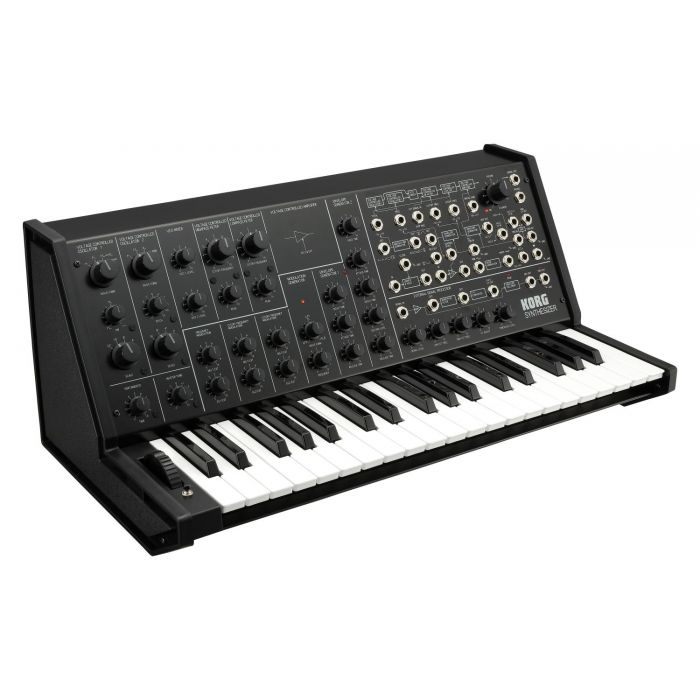 Angled View of Korg MS-20 FS Synth