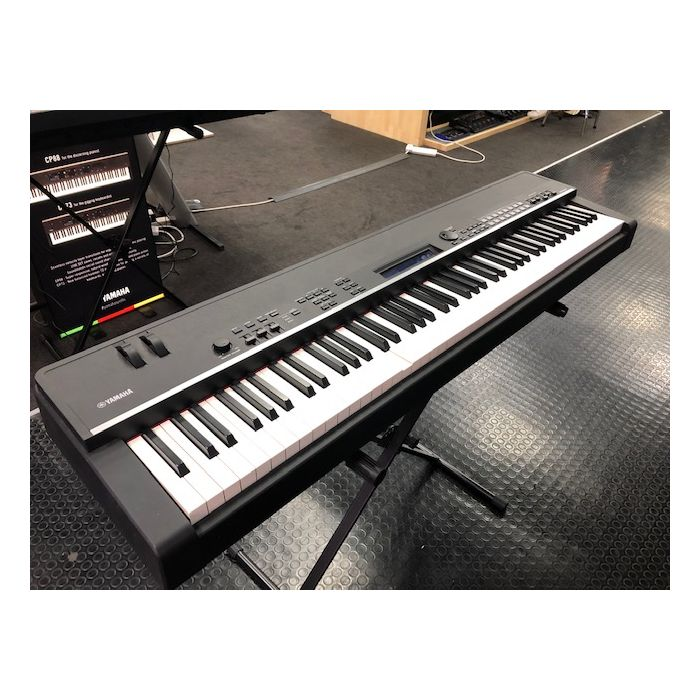 front left view of Yamaha CP4 Stage Piano