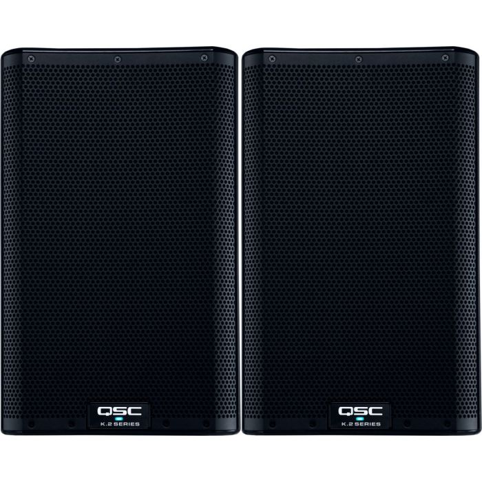 QSC K8.2 Active Speakers Pair Front