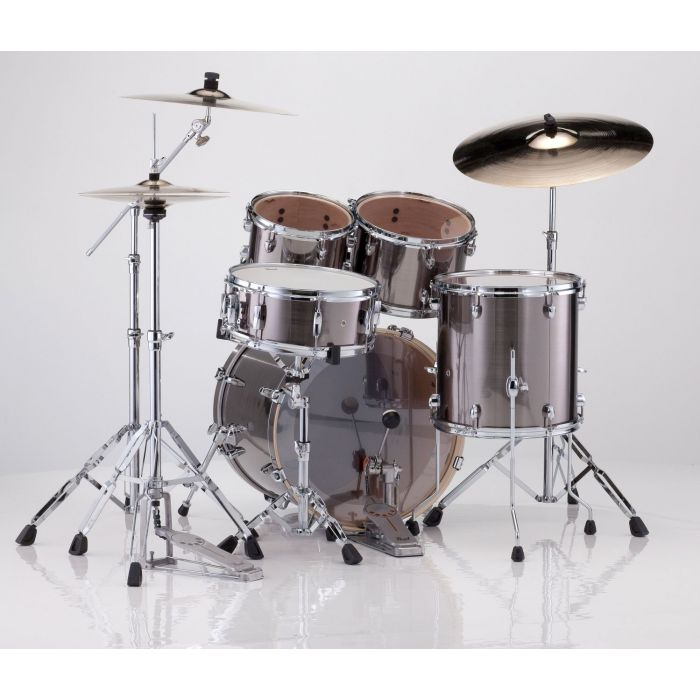 Rear View of Pearl Export EXX Kit
