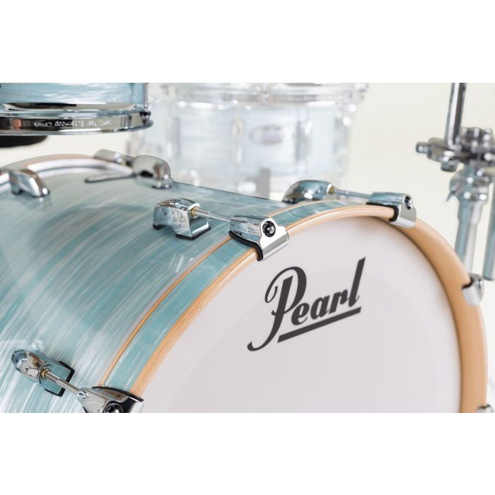 Pearl Masters Maple Complete Bass Drum Detail