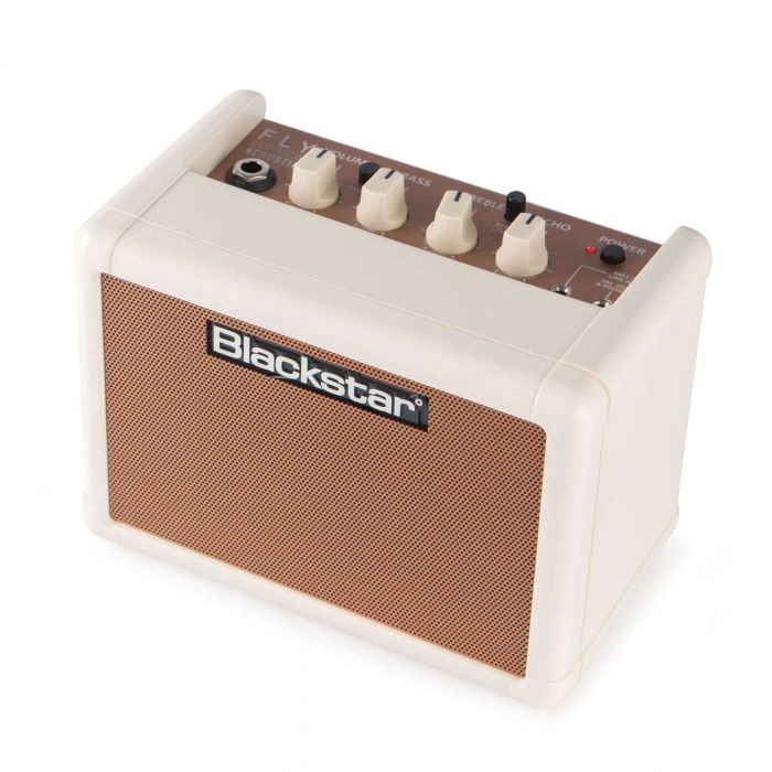 Angled View of Blackstar Fly 3 Acoustic Amplifier