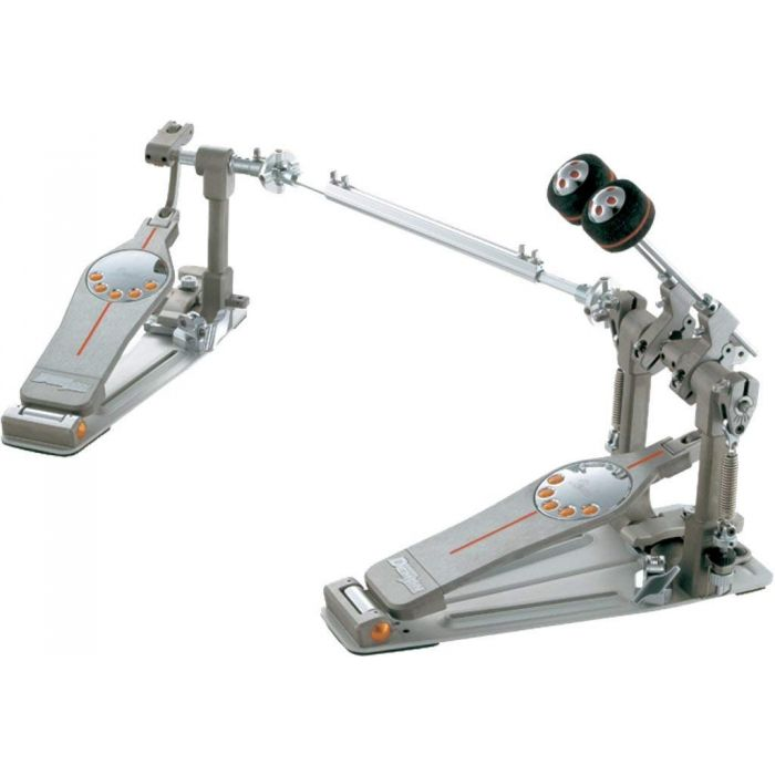 Angled View of Pearl P3002D Demon Direct Drive Double Pedal