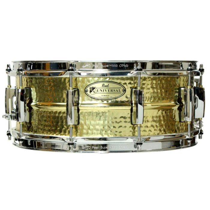 Pearl Limited Edition Universal Hammered Brass Snare Drum 14 x 5.5