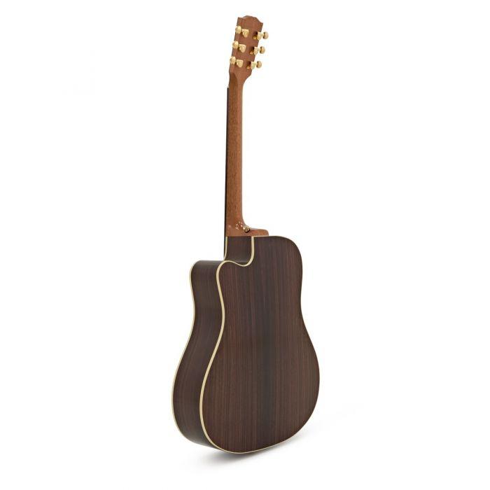 Gibson Hummingbird M Rosewood Burst Rear View