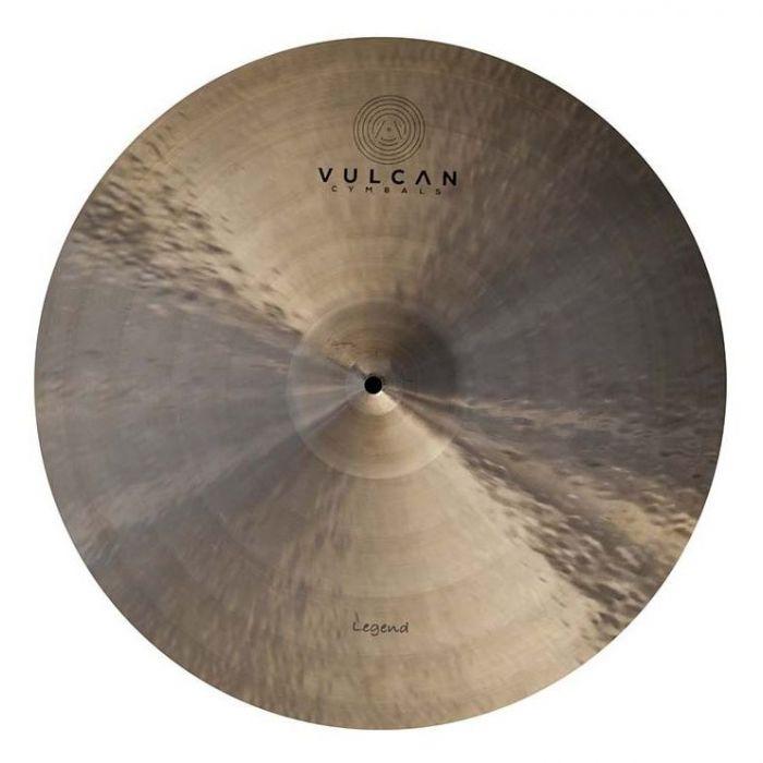 Top down view of a Vulcan Legend 17 inch Crash Cymbal