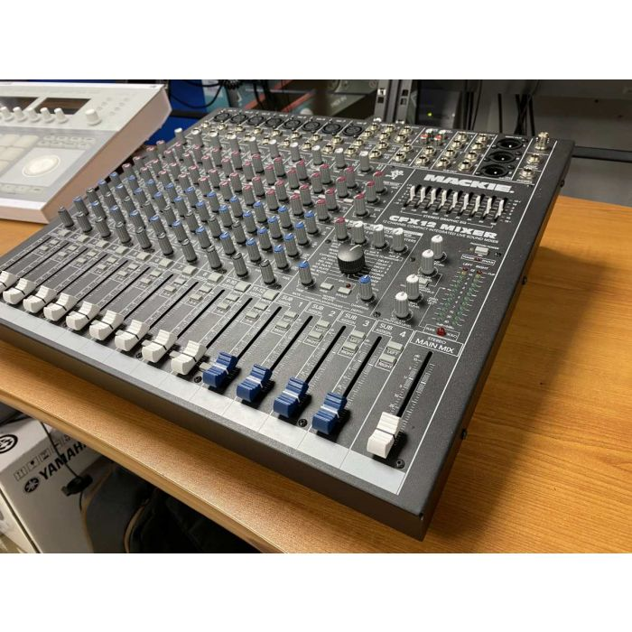 Right Side of Pre-Loved Mackie CFX12 Mixing Desk