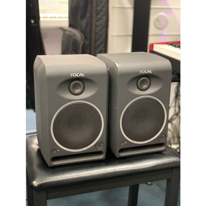 B Stock Focal CMS50 Active Monitors Pair Angled