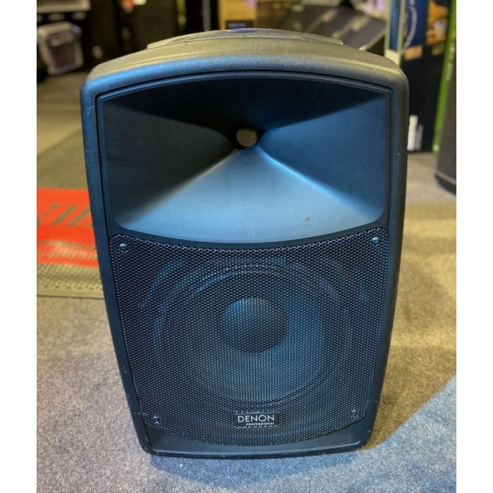 Full frontal view of a B Stock Denon Envoi Bluetooth Portable PA Speaker