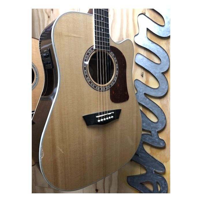 B-Stock Washburn HD20SCE Dreadnought Electro-Acoustic Guitar