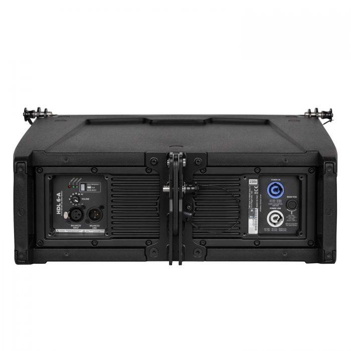 Back of RCF HDL 6-A Active Line Array Speaker