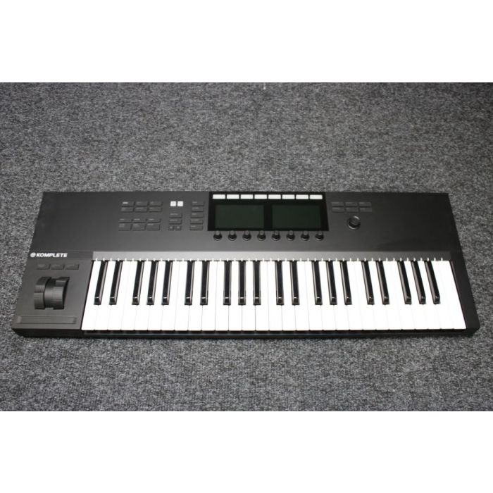 Top-down view of a B Stock Native Instruments Komplete Kontol S49 MK2