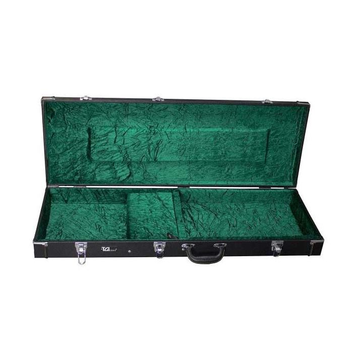 TGI Wood Electric Guitar HardCase Open