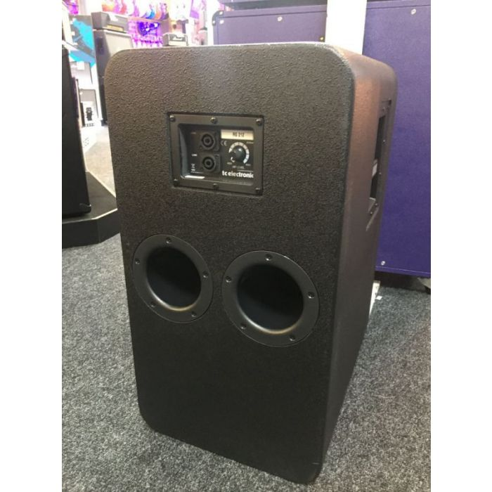 Full rear view of an Ex Display TC Electronic RS212 2 x 12 Bass Cabinet