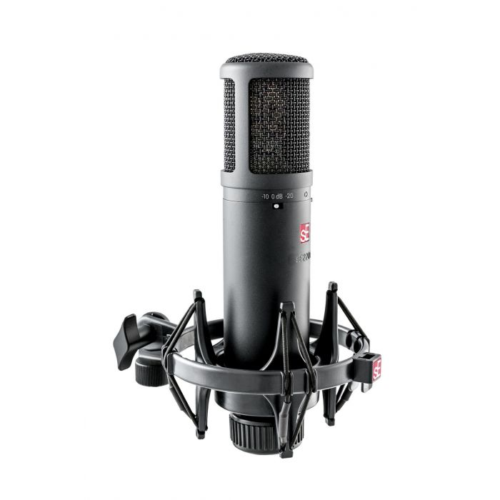 Side view of SE2200 Microphone in Cradle