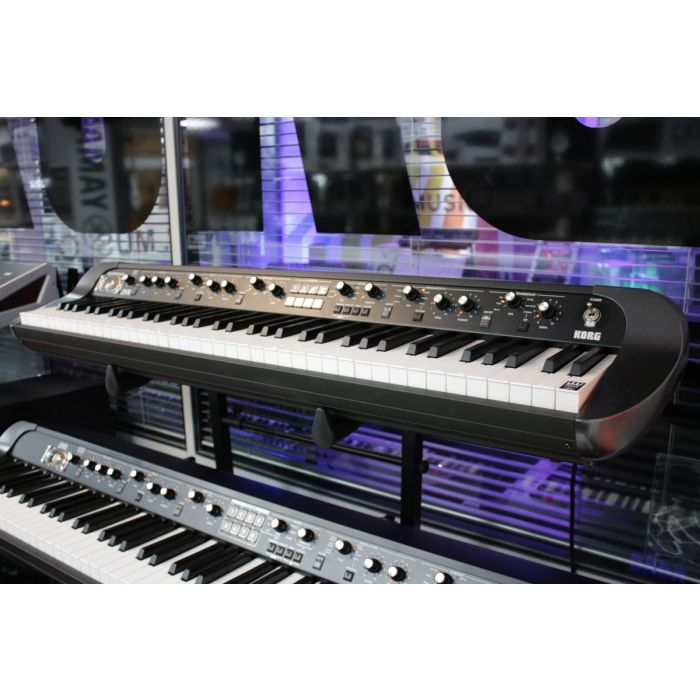 B-Stock Korg SV1 73 Key Vintage Stage Piano Right Angle