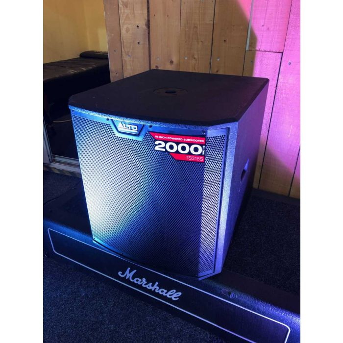 B-Stock Alto TS315S Active Subwoofer Angled View