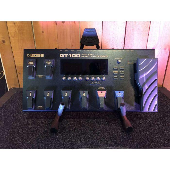 B-Stock Boss GT-100 Multi-Effects Pedal