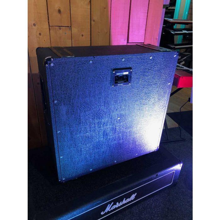 Back of B-Stock Marshall 1960AV 4x12 Guitar Speaker Cabinet