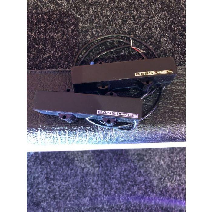 An unboxed Seymour Duncan AJJ-1 PRO Active Basslines PIckup Set