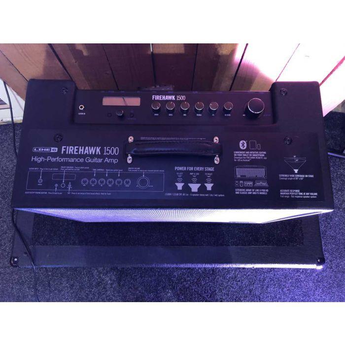 B-Stock Line 6 Firehawk 1500 Combo Guitar Amplifier Controls