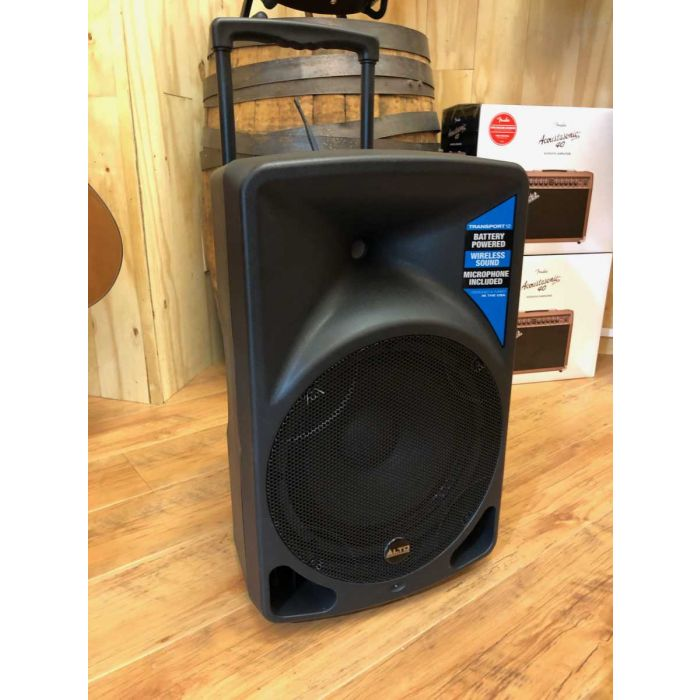 B-Stock Alto Transport 12 Battery Powered Portable PA System