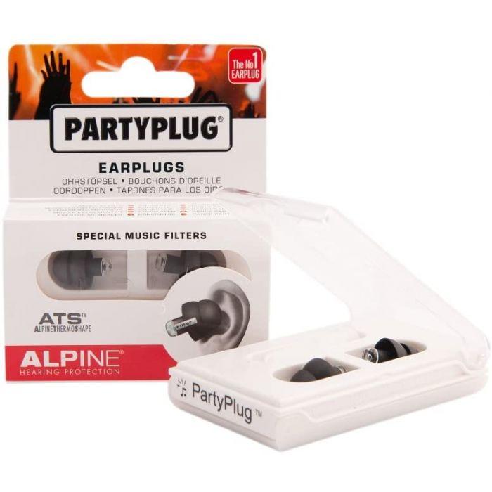 Alpine PartyPlug Earplugs Black