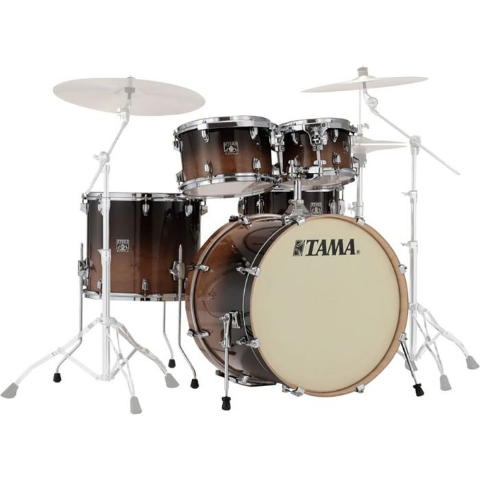 Tama Superstar Classic 5pc Shell Pack 22in Coffee Fade