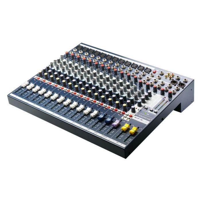 Angled View of Soundcraft EFX 12 Mixer