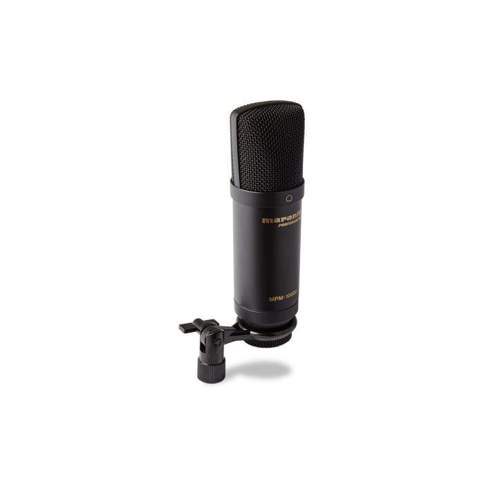 Marantz MP1000U USB Microphone Angled View on Clip
