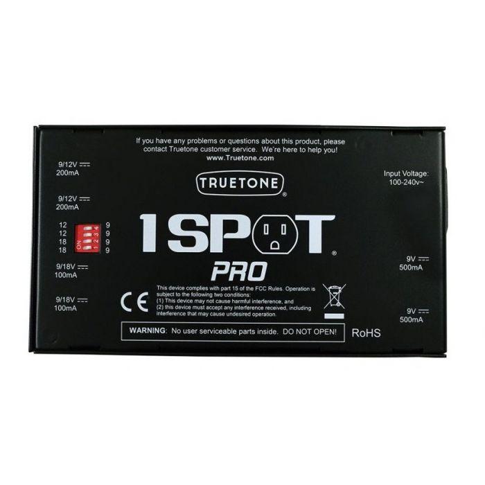 Truetone 1 Spot Pro CS6 Power Supply Under Side