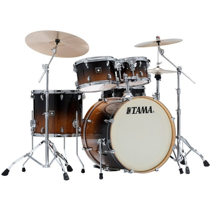 Tama Superstar Classic 5-Piece Drum Kit with Hardware Coffee Fade - Cymbals Not Included