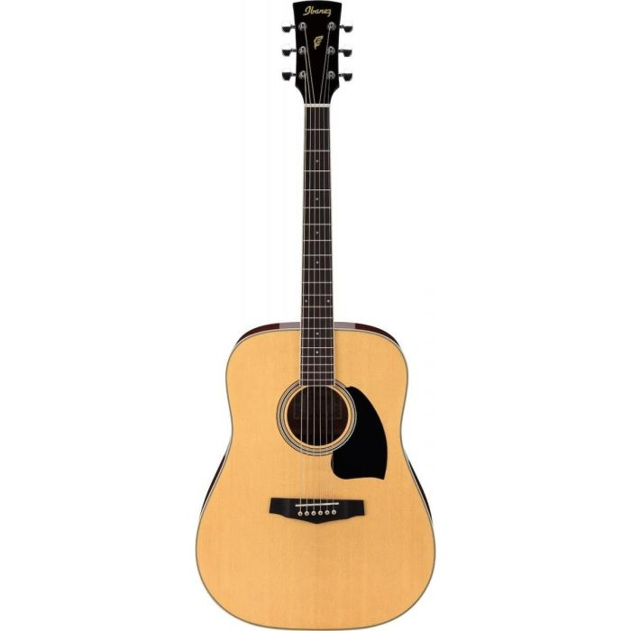 Ibanez PF15-NT Acoustic in Natural Full Front View