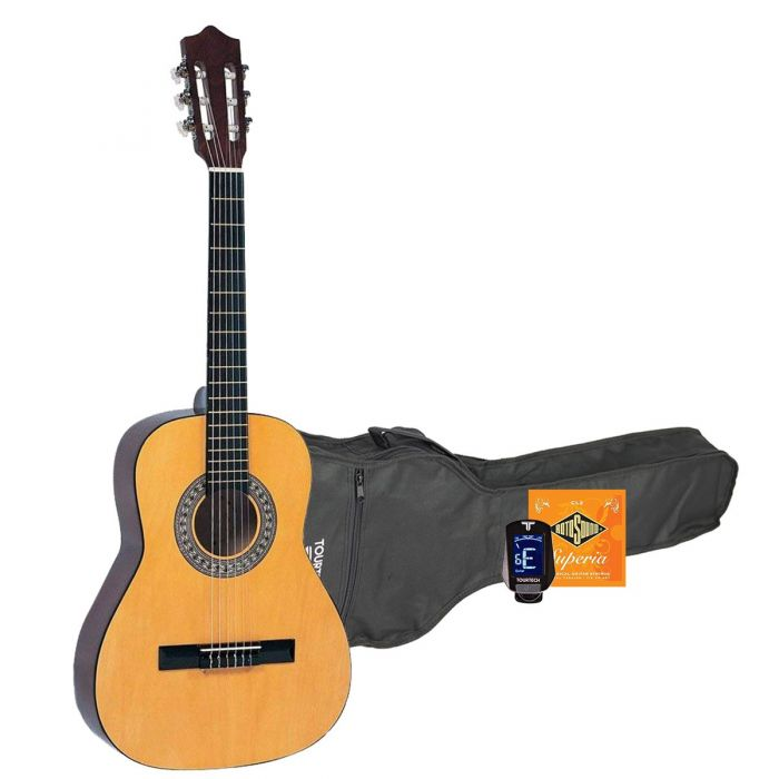 Encore 3/4 Size Classical Guitar Starter Pack